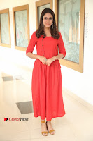 Actress Lavanya Tripathi Latest Pos in Red Dress at Radha Movie Success Meet .COM 0100.JPG