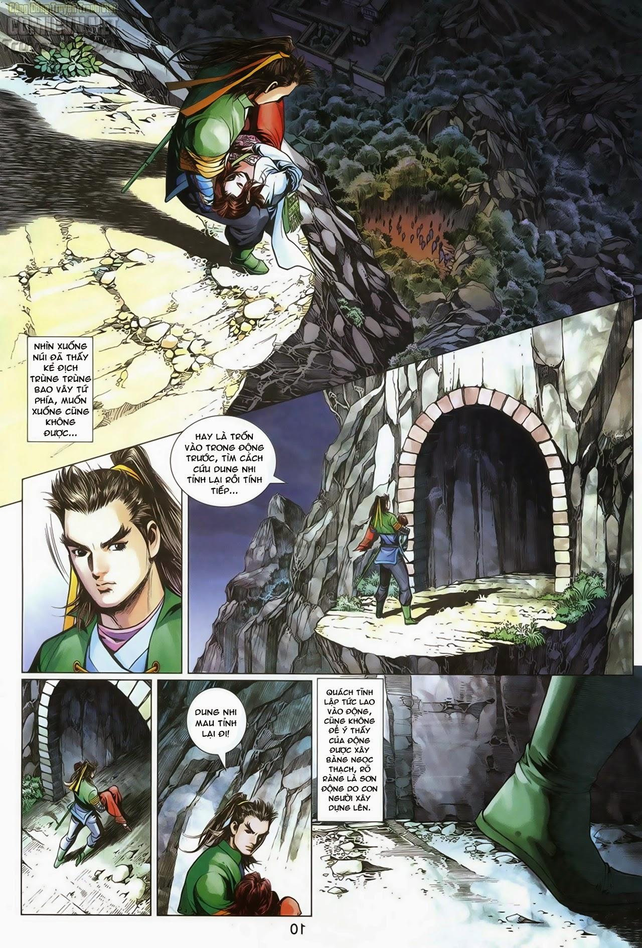 Anh Hùng Xạ Điêu anh hùng xạ đêu chap 69: hồn đoạn thiết chưởng phong trang 11