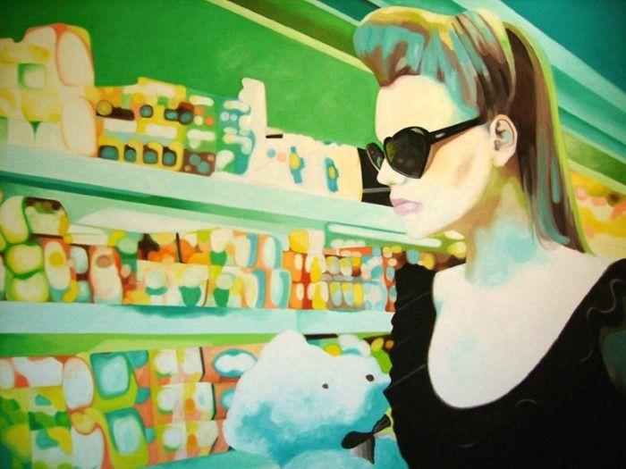Чилийский художник. Constanza Ragal