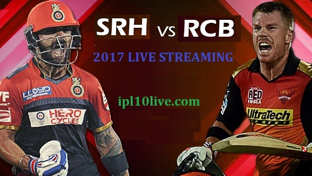 Sunrisers Hyderabad vs Royal Challengers Prediction 2017
