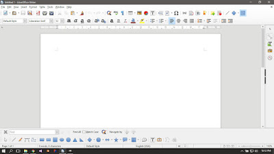 Libre Office Writer Running on Windows 10
