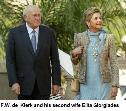 Image result for fw de klerk marike wedding