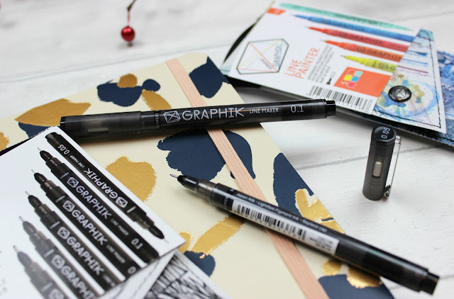 A review of Derwent Graphik Line Maker Pens
