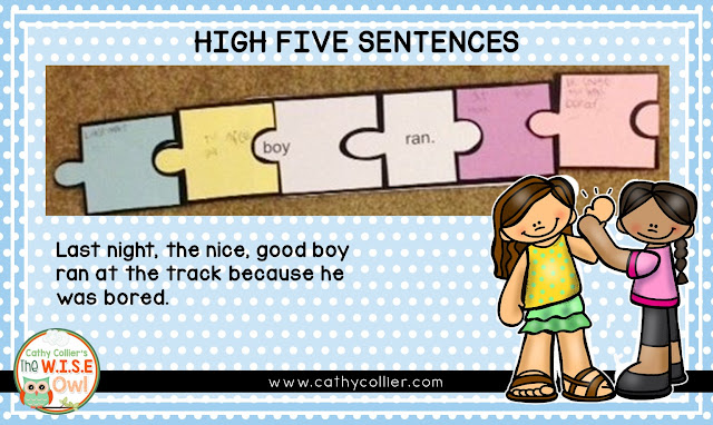 Providing pupils with an easy method for composing complex sentences make a big difference inside their writing. Their writing will likely be ready for many High Fives.