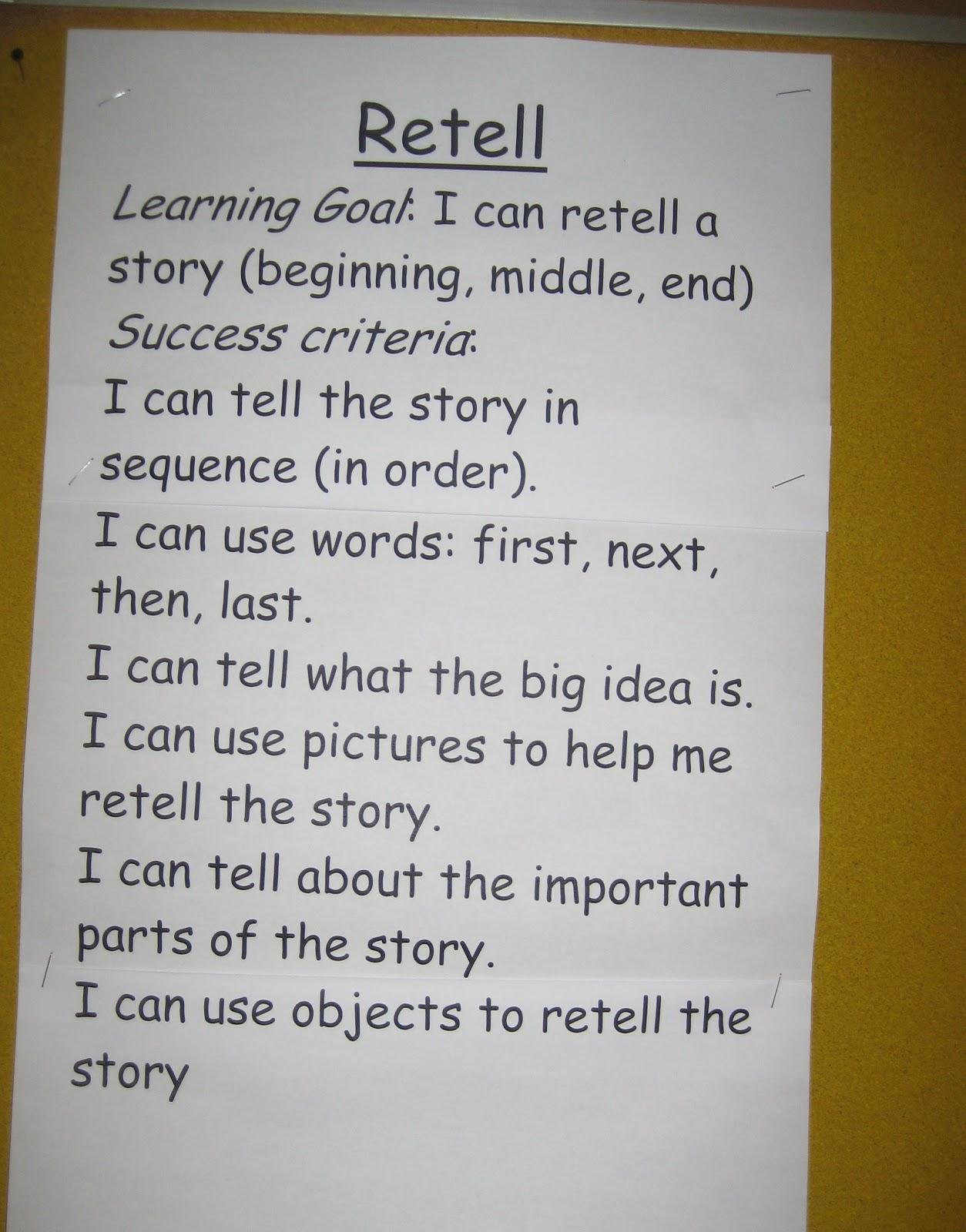 Recount Examples Grade 6