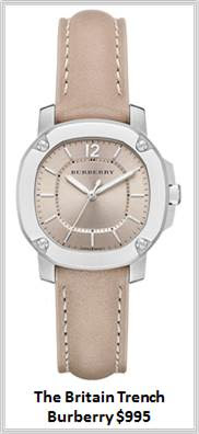 Sydney Fashion Hunter - Timeless Timepieces - Burberry Britain