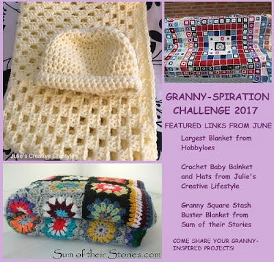 afghan, blanket, free, giveaway, granny square, granny stitch, Granny-Spiration Challenge 2017, linkup, pattern, yarn, features