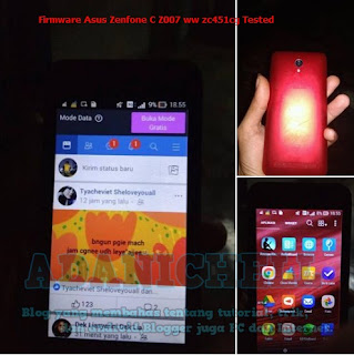 Download Firmware Asus Zenfone C Z007 ww zc451cg