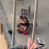 Omg! See how this couple were caught having se x in public in an usual postion