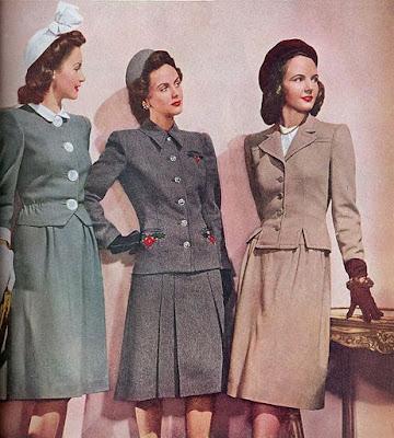 mulheres na década de 40