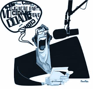Dicas de leitura de texto em rádio por locutor ou radialista