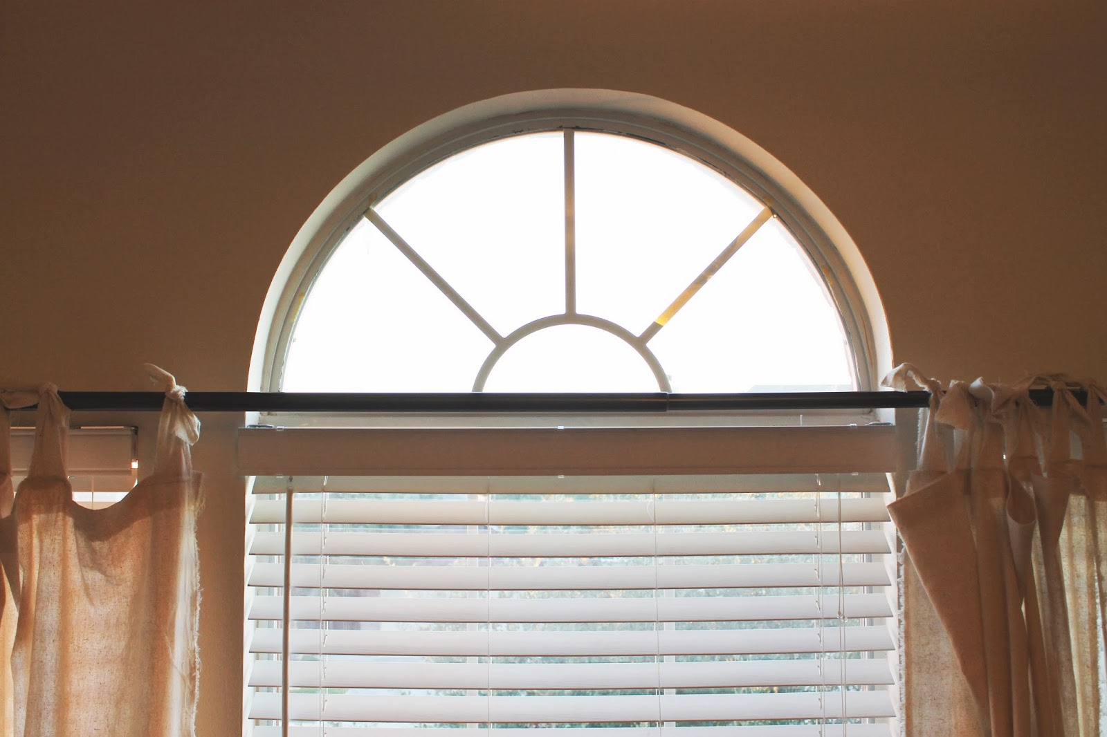 Covering Arched Windows