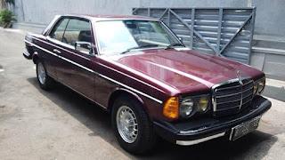 DIJUAL : Mercedes Benz Coupe W123C / 230 CE Automatic 1981 Built Up - JAKARTA