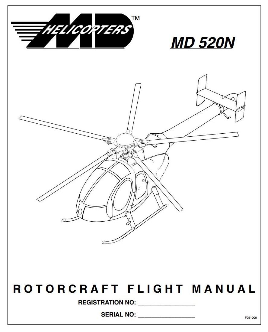 ARQUIVOS AERONÁUTICOS: Rotorcraft Flight Manual MD 520N