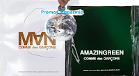 Logo Ricevi gratis fialette omaggio Comme des Garcons