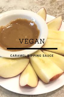 Vegan caramel dipping sauce