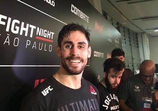Paraibano é destaque no UFC-São Paulo