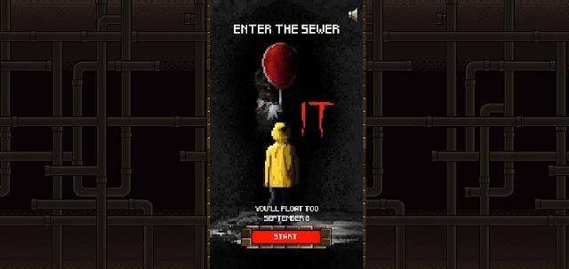 It - A Coisa ganha jogo gratuito em 8-Bit