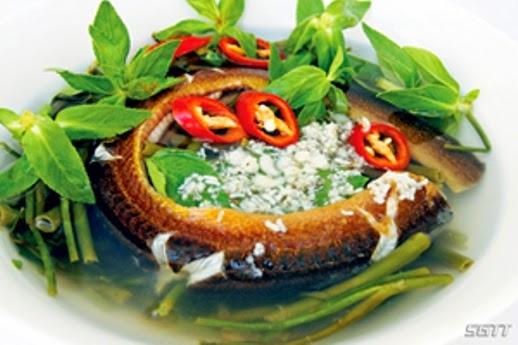 Đặc sản Đồng Tháp: Lươn nấu trứng kiến