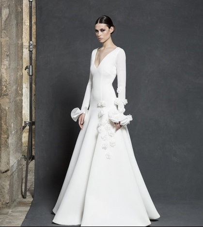 josefina huerta: los vestidos de novia de vicky martín berrocal