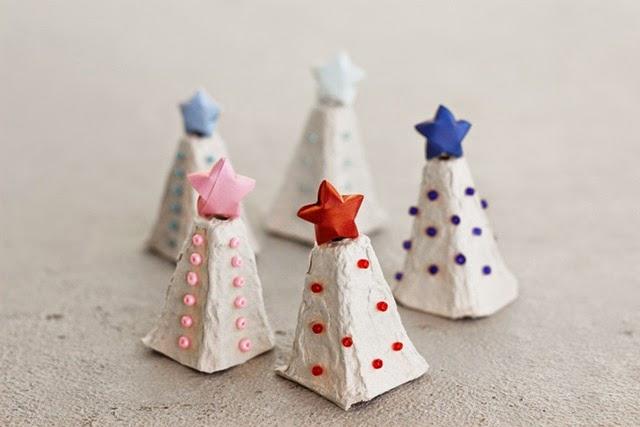 Preferenza Riciclo e lavoretto creativo per bambini per Natale con i cartoni  SQ62