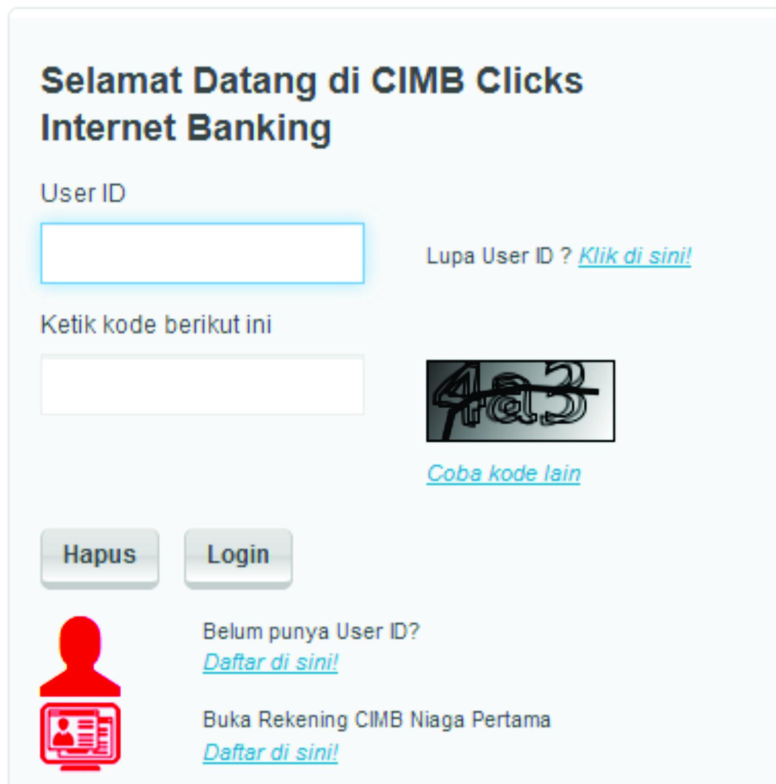 Cara Membuka User Id Cimb Clicks Yang Terblokir Promosijoss
