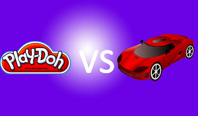 Play-Doh Vs Toy Car