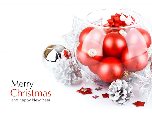 merry christmas and happy new year hd wallpapers