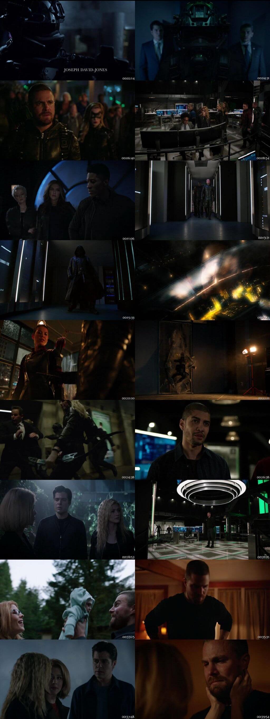 Screenshots Of English Show Arrow Season 07 Episode 22 2019 WEB-DL 720P 300MB