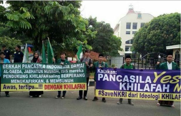 """Sekali lagi soal Klaim Hadis """"khilafah 'ala minhajin nubuwwah"""" Organisasi Anti NKRI, Pancasila, UUD 45, dan Bhinneka Tunggal Ika"""