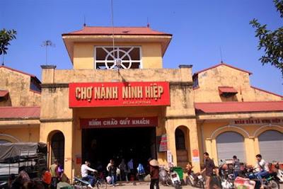 Nhập quần áo trẻ em ở Chợ Ninh Hiệp