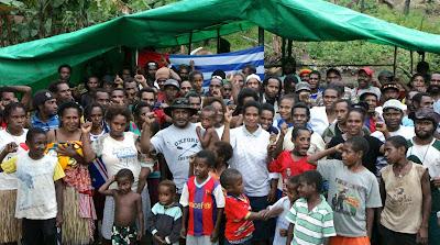 300 Pengungsi West Papua Resmi Jadi Warga Negara PNG