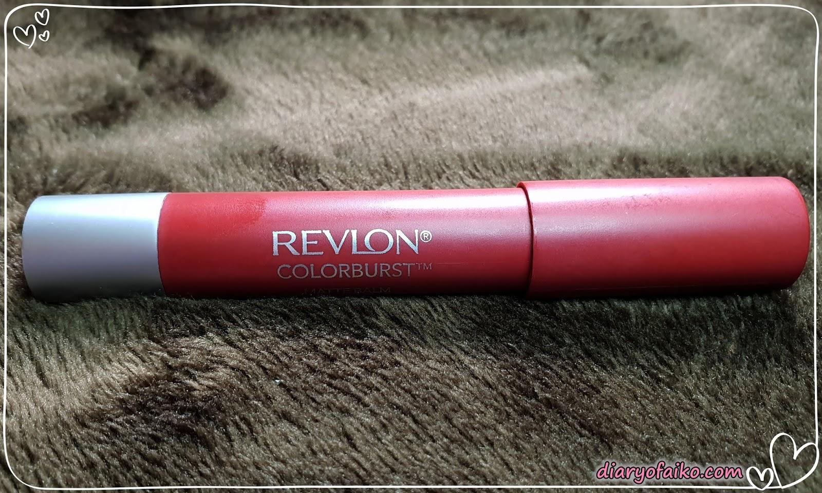 Review Revlon Colorburst Matte Balm Standout