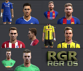 Amazing Facepack Edit Pes 2013 by Rgr