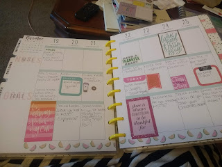This is a very basic planner.