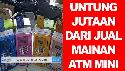 Jual Mainan ATM Mini