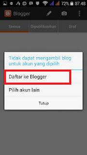 Panduan Lengkap Menulis Artikel blogspot Via Android