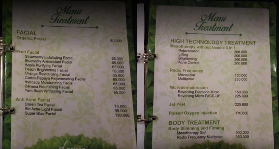 harga corpul slimming di larissa