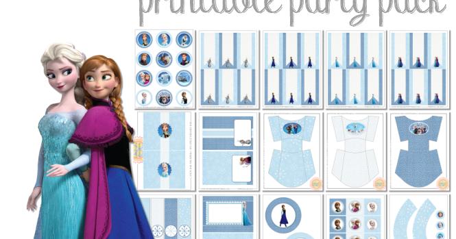 Frozen Free Printable Kit. | Oh My Fiesta! in english - photo #40
