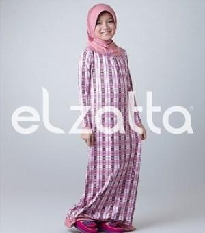 Baju Gamis Muslim Anak Elzatta