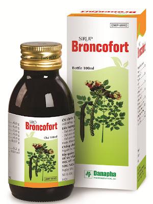 Brocofort - Siro trị ho