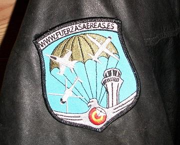 Parche bordado Fuerzas Aereas