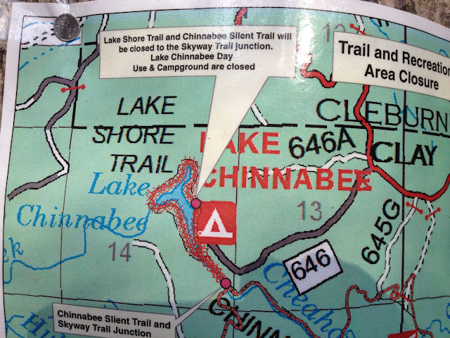 Pharm Hiker: Cheaha State Park: Pinhoti Chinnabee Skyway Loop on chehaw park campground map, alabama state map, mt. cheaha map, forest park hiking trails map, mount cheaha trail map, cheaha mountain hiking trail map, blauvelt state park trail map,