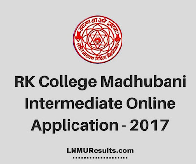 RK College Intermediate Online Apply