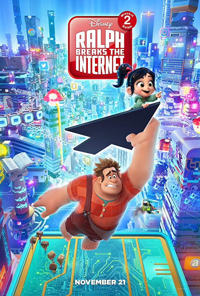Review Filem Ralph Breaks The Internet: Wreck-It Ralph 2