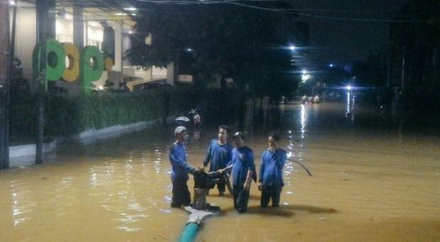 Banjir Cipinang Melayu Jakarta Timur