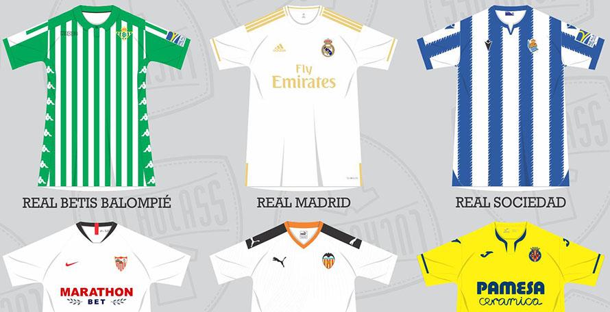 Many Additions: All 19-20 La Liga Kits Leaked / Released So Far
