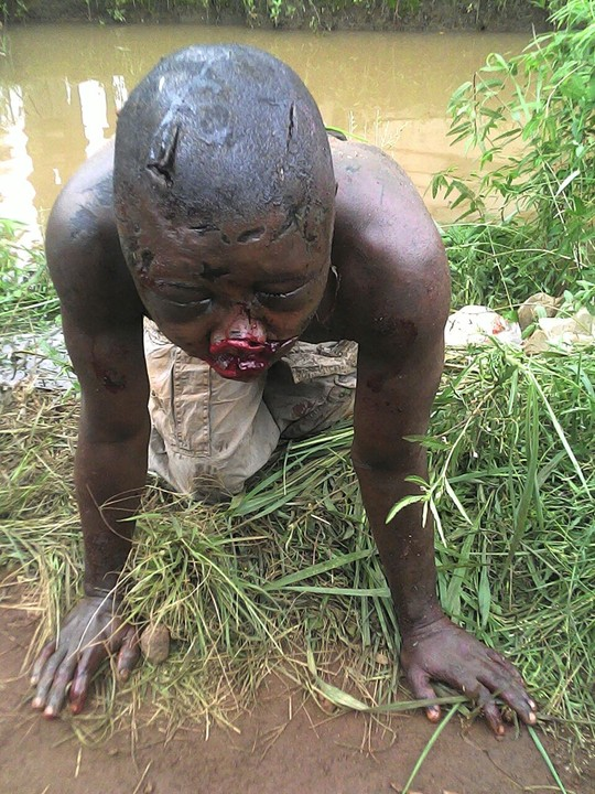 See How This Guy Almost Lost His Life For Stealing A Phone In Warri