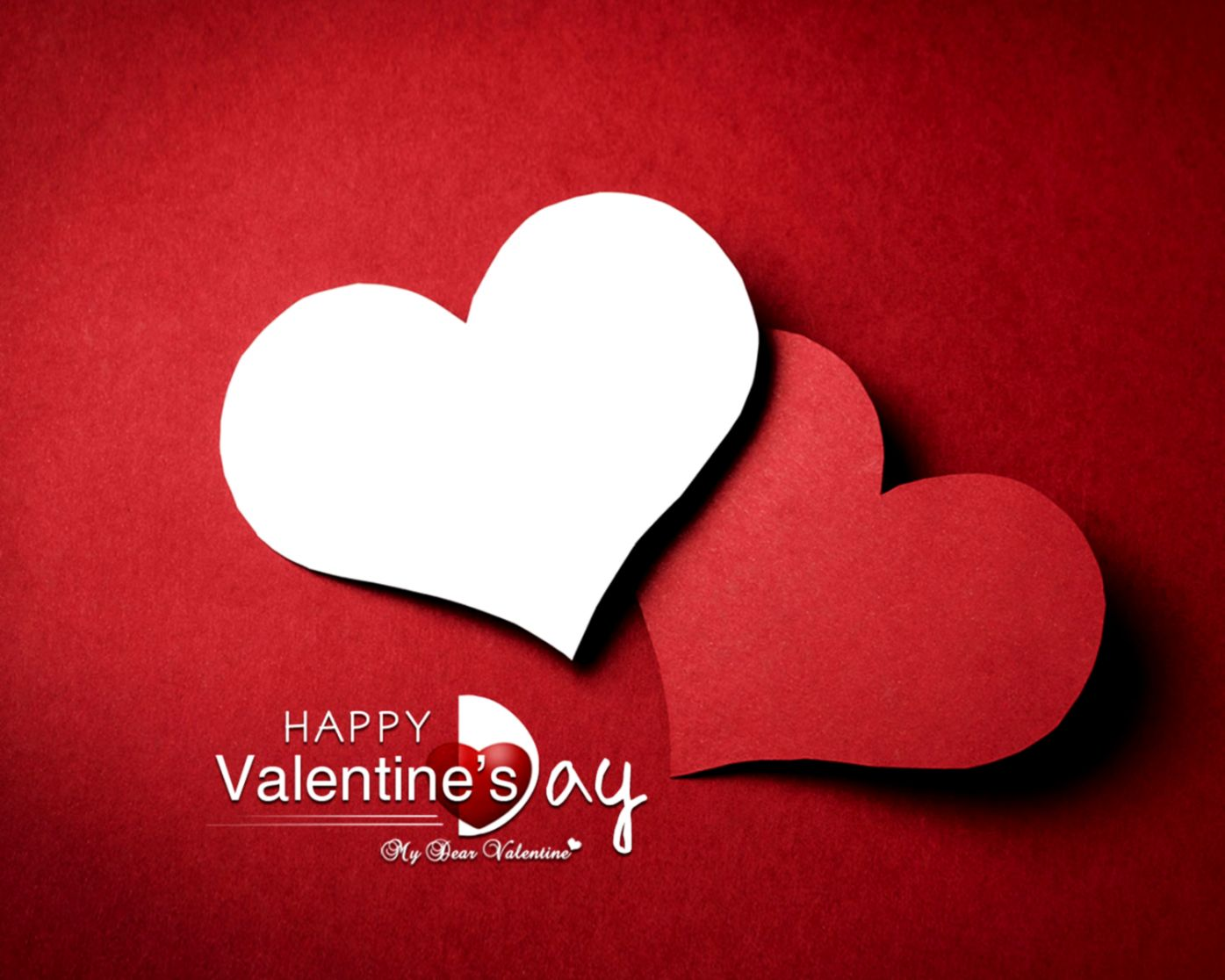 Valentine Love Heart Background Hd Wallpaper Wallpapers Awards
