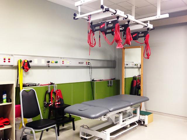 好痛痛 長安醫院復健科 Redcord 紅繩懸吊 Station 工作站 自費 物理治療 運動治療 神經肌肉控制